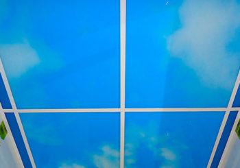 Витражный Потолок с Фотопечатью